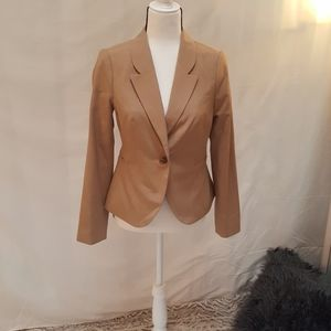 NWOT The Limited tan jacket sz 4